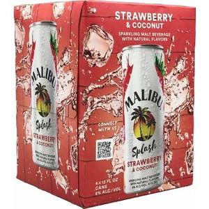 Malibu Splash - Strawberry & Coconut