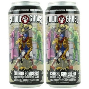 Clown Shoes Beer - Limited Release - Churro Sombrero