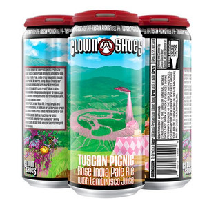 Clown Shoes Beer - Limited Release - Tuscan Picnic Rose IPA