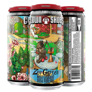 Clown Shoes Beer - Zen Garden - Double Dry Hopped New England IPA
