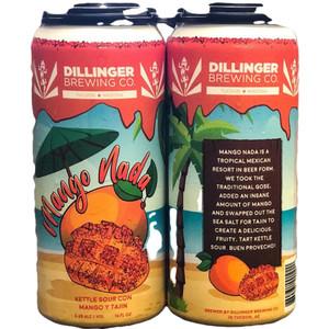 Dillinger Brewing Co. - Mango Nada sour Ale