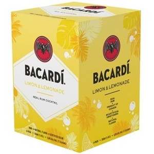 Bacardi Limon & Lemonade