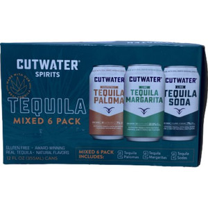 Cutwater Spirits - Tequila Mix Variety Pack