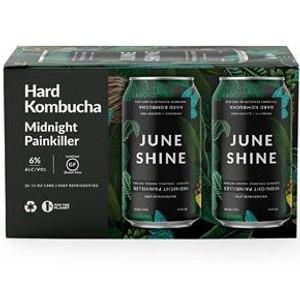 June Shine Hard Kombucha - Midnight Painkiller