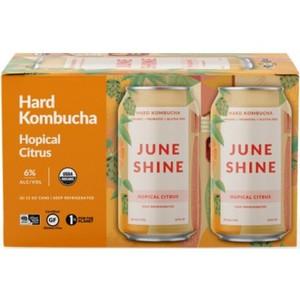June Shine Hard Kombucha - Hopical Citrus