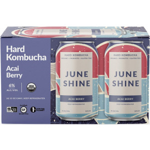June Shine Hard Kombucha - Acai Berry