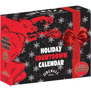 Fireball Cinnamon Whisky Holiday Countdown Calendar
