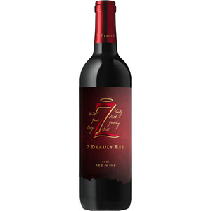 7 Deadly Red - Red Wine Blend