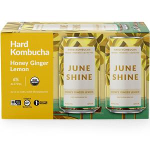 June Shine Hard Kombucha - Honey Ginger Lemon