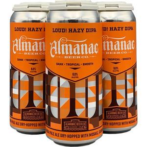 Almanac Beer Co. - LOUD! Hazy DIPA