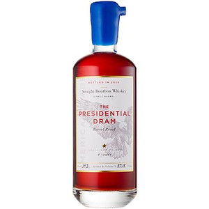 Proof & Wood - The Presidential Dram - Barrel Proof Straight Bourbon Whiskey