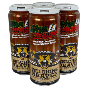 Belching Beaver - Viva La Beaver - Mexican Chocolate Peanut Butter Stout