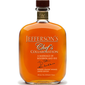 Jefferson's Chef's Collaboration Limited Edition Straight Whiskey Blend