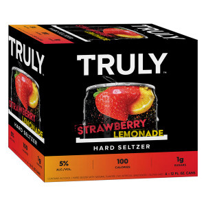 Truly Hard Seltzer - Strawberry Lemonade