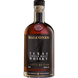 Balcones Classic Single Malt Texas Whiskey