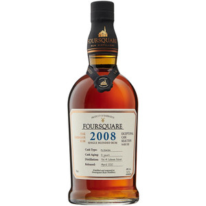 Foursquare Cask Strength Single Blended Rum - 2008 Vintage