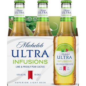 Michelob Ultra Infusions - Lime & Prickly Pear cactus