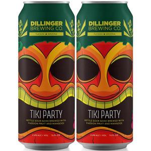 Dillinger Brewing Co. - Tiki Party Kettle Sour Ale