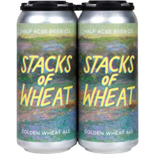 Half Acre Beer Co. - Stacks Of Wheat Golden Wheat Ale