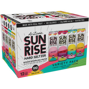 Arizona Sunrise Hard Seltzer Variety 12pk 12oz Cans