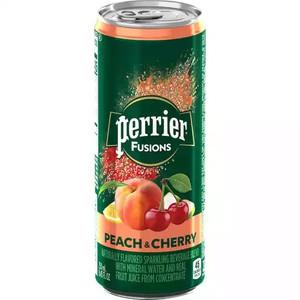 Perrier Fusions - Peach & Cherry