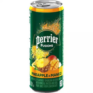 Perrier Fusions - Pineapple & Mango