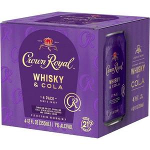 Crown Royal - Whisky & Cola