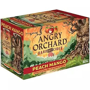 Angry Orchard Peach Mango Hard Fruit Cider