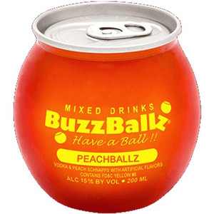 BuzzBalls - PeachBallz