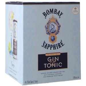 Bombay Sapphire Gin & Tonic