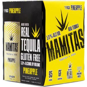 Mamitas Tequila & Soda Hard Seltzer - Pineapple