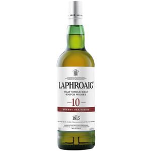 Laphroaig 10 Year Sherry Oak Finish Single Malt Scotch Whisky