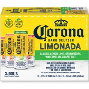 Corona Limonada Hard Seltzer Variety Pack