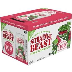 Strainge Beast Hard Kombucha - Watermelon, Sea Salt, Lime & Mint