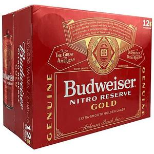 SPECIAL - Budweiser Nitro Reserve Gold