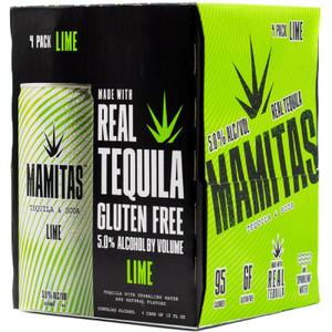 Mamitas Tequila & Soda Hard Seltzer - Lime