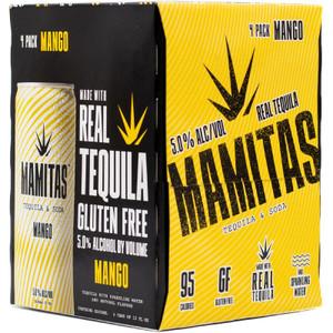 Mamitas Tequila & Soda Hard Seltzer - Mango