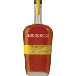 Boondocks Port Barrel Finished Straight Bourbon Whiskey
