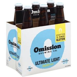Omission Ultimate Light Golden Ale
