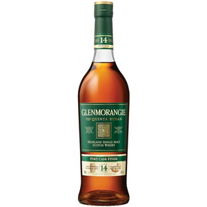 Glenmorangie - Quinta Ruban - 14 Year Port Cask Finish - Single Malt Scotch Whisky