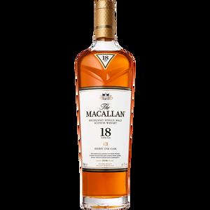 The Macallan - Sherry Oak Cask - 18 Year - Single Malt Scotch Whisky