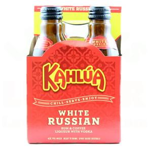 Kahlua White Russian 200ml 4 Pack