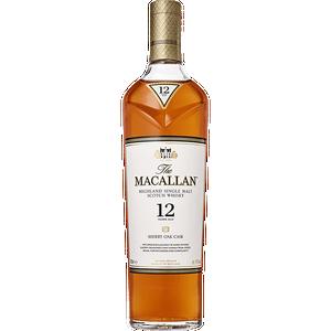 The Macallan - Sherry Oak Cask - 12 Year - Single Malt Scotch Whisky