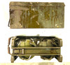 Lot 11: Original WW2 Basket Drums with Carrier and Ammo Can with visible markings