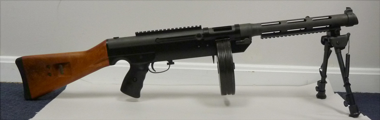 shown on gun