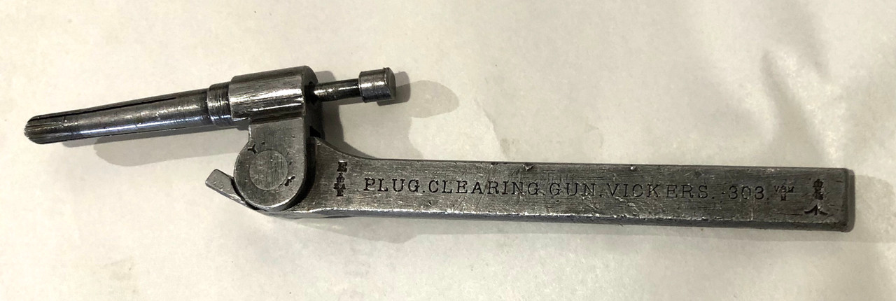 Vickers, Lewis, & BREN Clearing Plug (first Pattern) Machined Handle