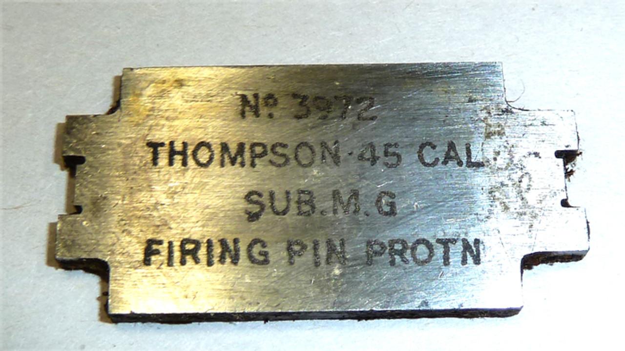 Thompson Firing Pin Protrusion Gauge