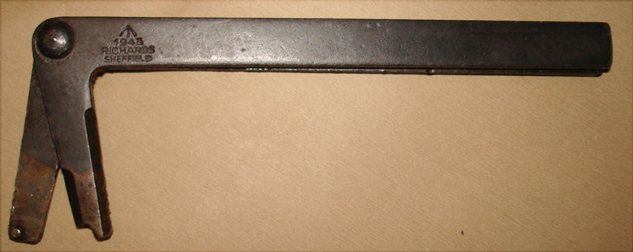 Original STEN Ruptured Case Tool, WW2 dated