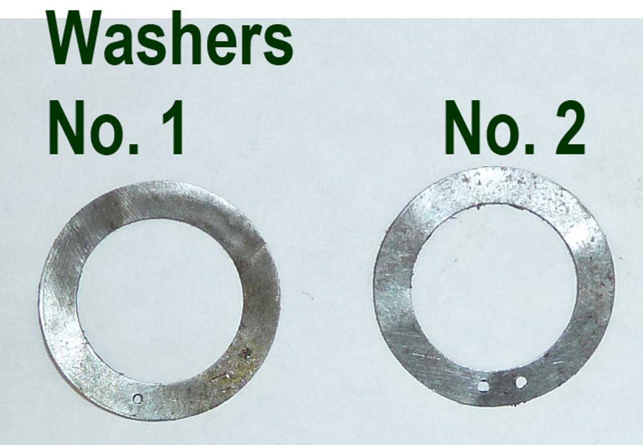 Vickers Lock Headspacing Washers, No. 1 .003 thickness
