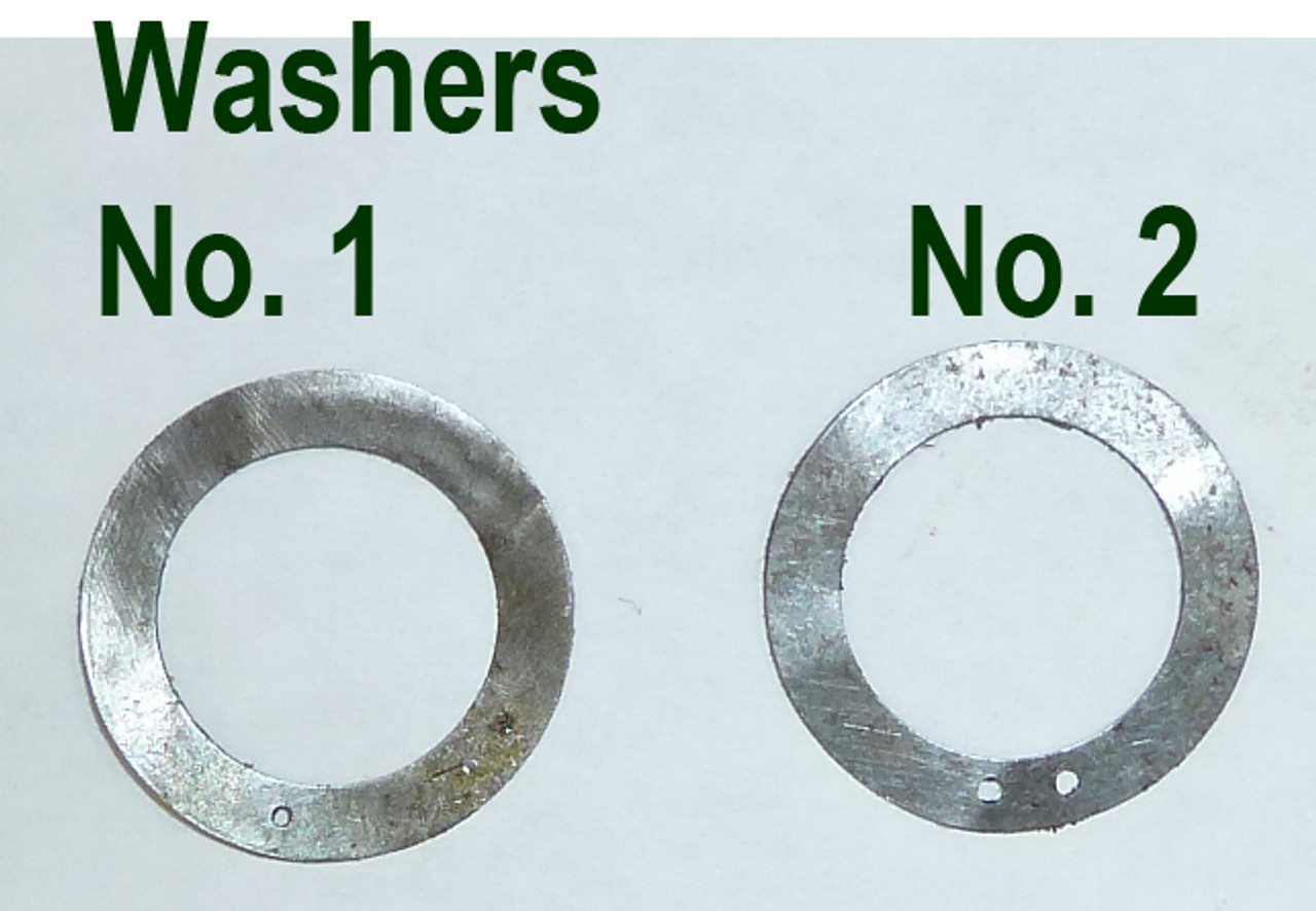 Vickers Lock Headspacing Washers No. 2 (.005 Thickness)